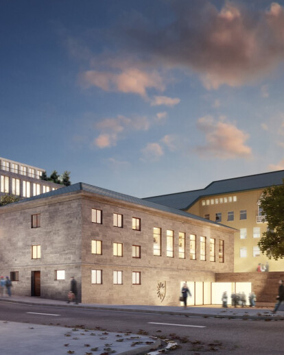 Extension of Bodø City Hall