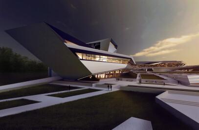 Reconstruction, Recreation Center - 2014, by Dumitru Eremciuc