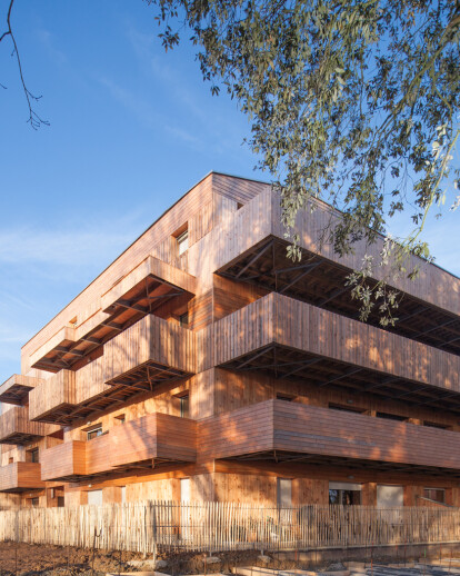 20 collective housing units in Saint Marc sur Mer