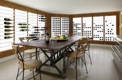 Modern Wine Cellar Design | RYE CELLAR by Vin de G