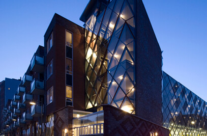 Aluminium façade systems