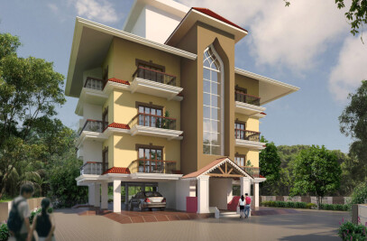 Horizons Solitaire - Affordable Luxury Homes In Goa