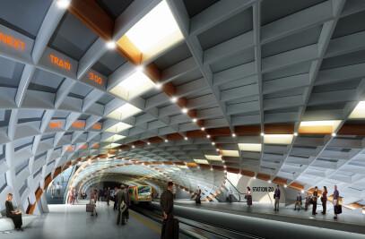 S20 Metro Station