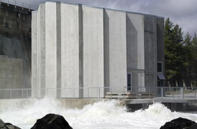 Generator Chamber - Pålsbu Hydro Power Station