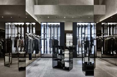 Les Hommes boutique in Milan
