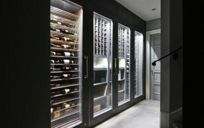 Vin de Garde Modern Wine Cellar Designs