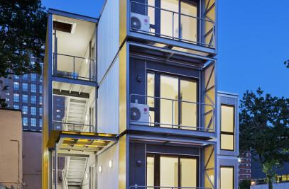 Urban Post Disaster Housing Prototype