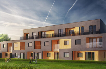 'PRESTIGEHOME' TERRACED HOUSING, BIAŁYSTOK, 2013