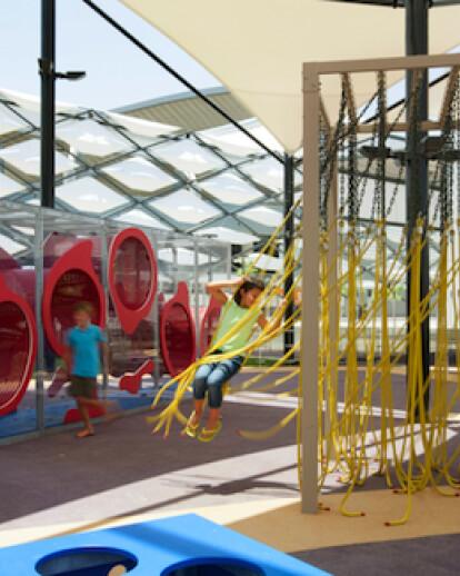 Interactive Playground at New Hazza Bin Zayed Stadium