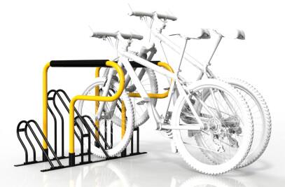 Horizontal Compact Bicycle Rack