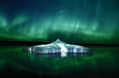 The floating snowflake hotel