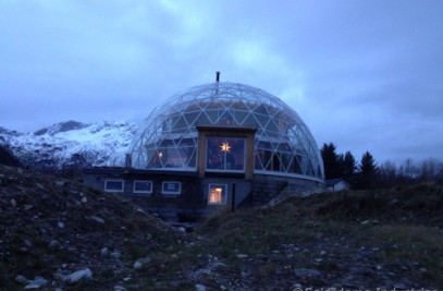 The Nature House- 15m diameter SOLARDOME® PRO