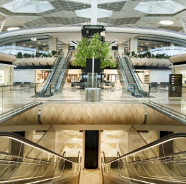 Heydar Aliyev International Airport in Azerbaijan