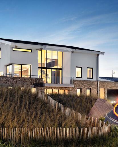 Villa in the dunes