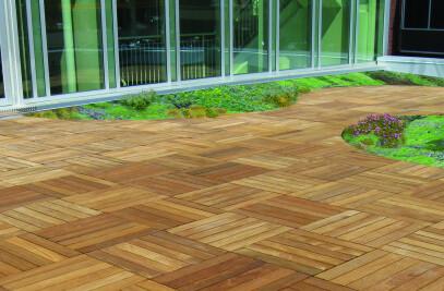 Cumaru Deck Tiles
