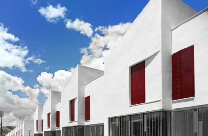 18 social houses in Iznajar/ Cordova (Spain)