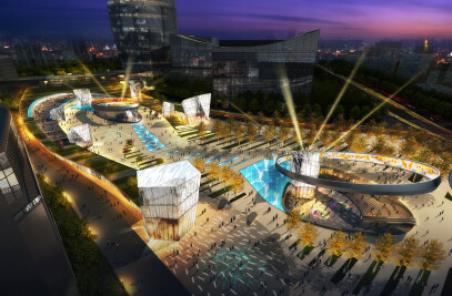 Crystal City Zhongguancun Master Plan