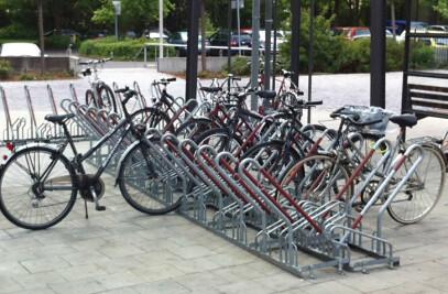 High Density Cycle Rack