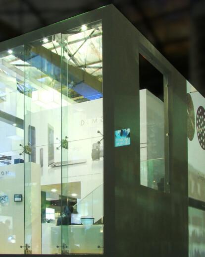 Dimexon Diamonds Exhibition Stall in India International Jewellery Show