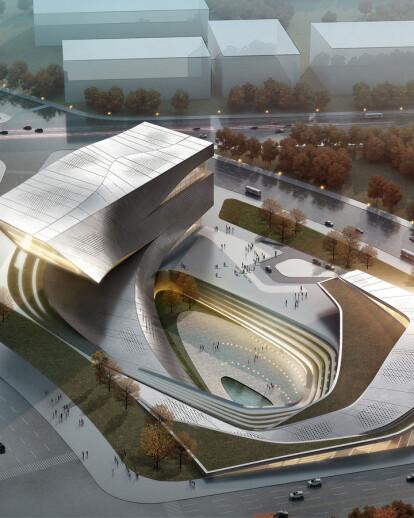 10 DESIGN | Dalian Library Design Competition, Dalian, China