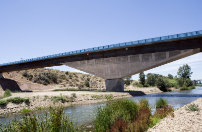 Bridge over the river Guadiana