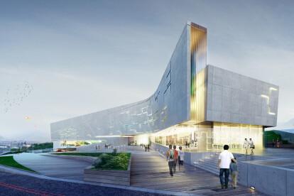 Sports Complex Project - Facades Design