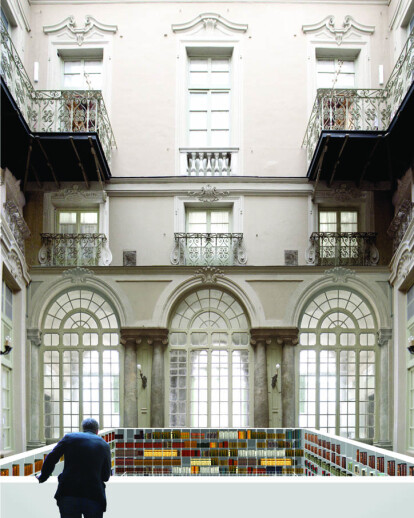Library for the Chamber of Commerce of Genoa