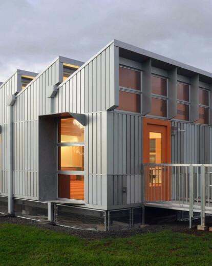 Energy Positive Relocatable Classroom
