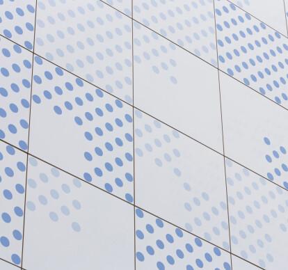 Glazed ceramic facades