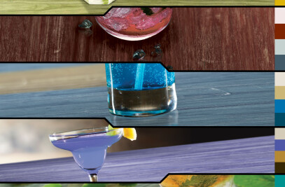 LVT's Cocktail of colour