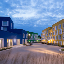 BOESELBURG - Council and student housing at the Boeselagerstraße