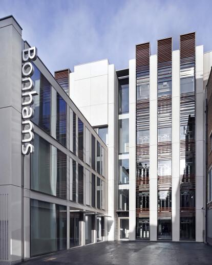 Global headquarters for Bonhams in Mayfair
