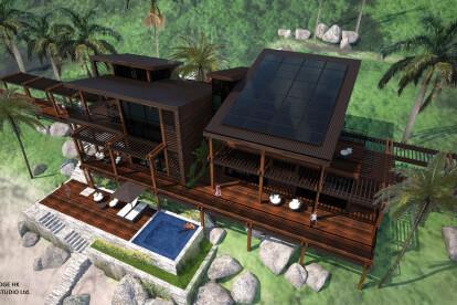 The Coconut Lodge - © 2014 OVA Studio Ltd.