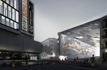 Madrid Digital Arts Museum Ideas Competition