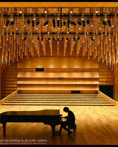 Interior renovation project of the Concert Hall of Tokyo National University of Fine Arts and Music