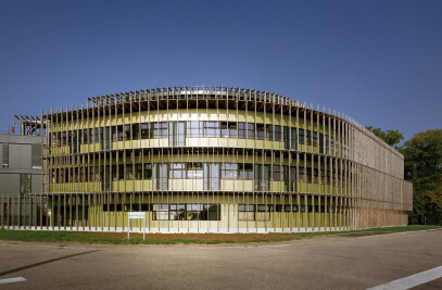 INRA research laboratories in Champenoux