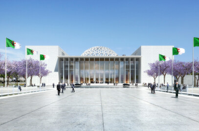 New Algerian Parliament