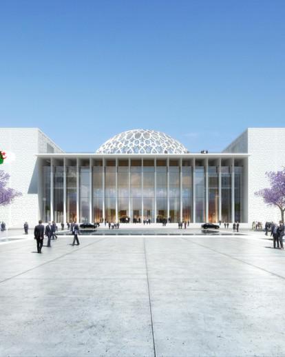 New Algerian Parliament