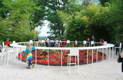 """Pavillion BLOOM for the International Garden Festival of Chaumont-sur-Loire 2014 - Gardens of the deadly sins"""""""