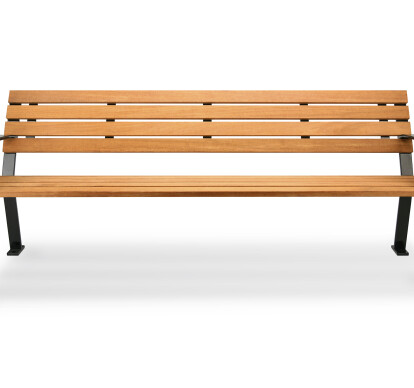 RBW-28 bench and RBW-12 backless bench