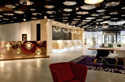 The New Lobby at Swissôtel Zurich