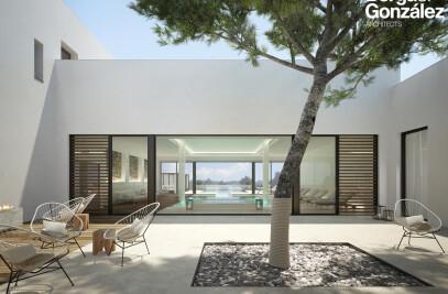 Architectural renderings Tarida Beach resort