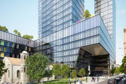 Architectural visualisation BDD Hub Beirut