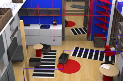 private kindergarten in small apartment