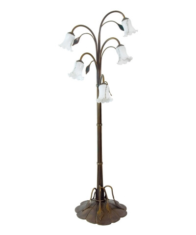 Juncus floor lamp