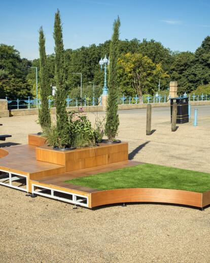 Alexandra Palace - A Mobile Italian Garden