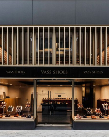 Handmade architecture, Vass Shoes Budapest