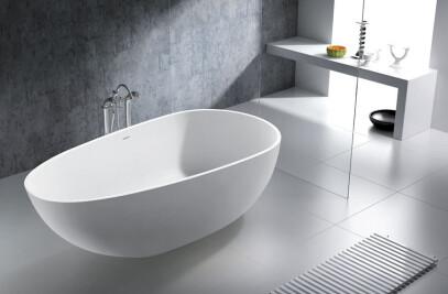 Luino Grande - Mineralguss-Badewanne
