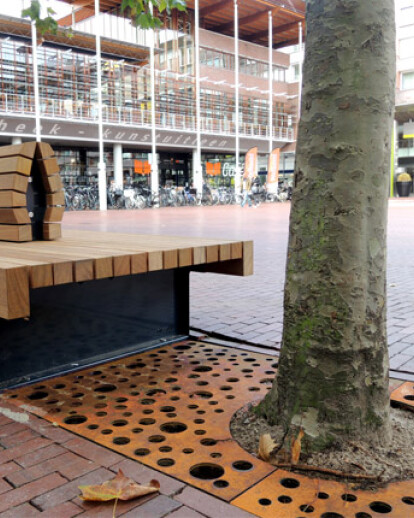 New landscaping elements for Amstelveen city centre