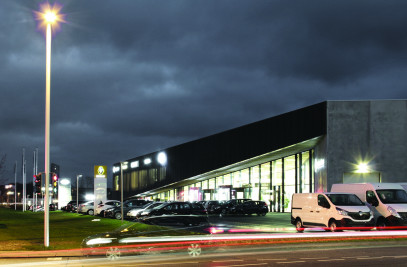 Automotive Showroom in Herning